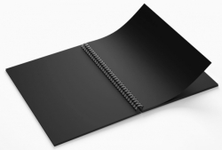 Блокнот TM Profiplan «Black sketch book» three, A5