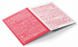 "Блокнот TM Profiplan Two in one, ""Doodle Note"", Red A5"